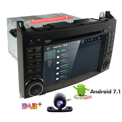 7 inch Quad Core Android Car DVD Player GPS For Mercedes-Benz Vito W169 W245 4G