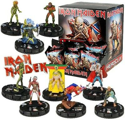 IRON MAIDEN - 2013 HeroClix by W!zkids full 9 piece set ~New~ FREE SHIPPING