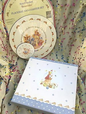 BUNNYKINS By Royal Doulton PLACEMAT & COASTER (Sealed) & Boxed PHOTO ALBUM