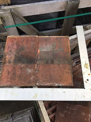 """Reclaimed Acme Sandstorm Clay Rosemary Roof Tile 6.5 X 10.5"""" .25p Each"""