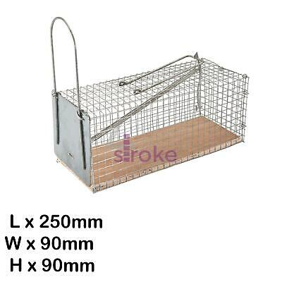 Mouse Cage Trap 250 X 90 X 90mm Plywood And Wire Mesh Cage High Quality