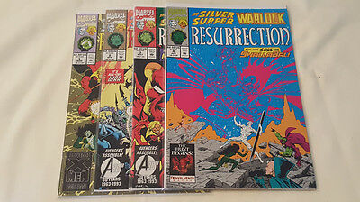 Marvel Comics - Silver Surfer and Warlock Resurrection #1-4 - (1993)