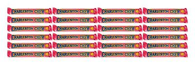 910447 24 X 53g CHARLESTON CHEW BARS STRAWBERRY FLAVOURED! MADE IN USA