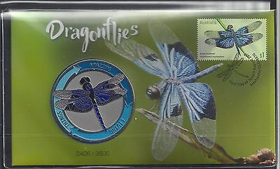 Australia 2017 Dragonflies PNC Limited Edition Stamp cover