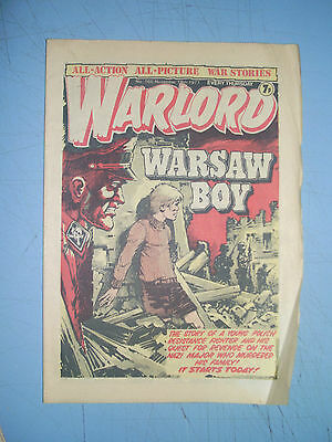 Warlord issue 165 dated November 19 1977