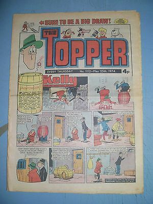 Topper issue 1112 dated May 25 1974