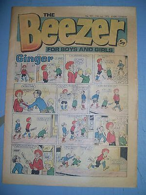Beezer issue 991 dated January 11 1975