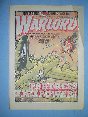 Warlord issue 176 dated February 4 1978