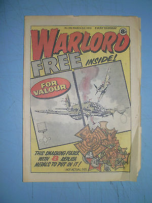 Warlord issue 232 dated March 3 1979