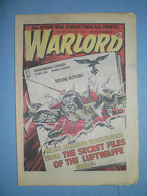 Warlord issue 187 dated April 22 1978