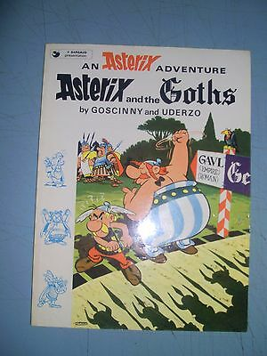 Asterix and the Goths 1980 softback
