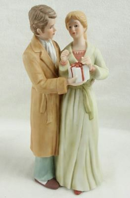Vintage Treasured Memories Enesco Figure Christmas Morning
