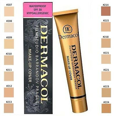 DERMACOL MAKE UP COVER 30g WASSERFEST GRUNDIERUNG STARKDECKEND ALL COLOR