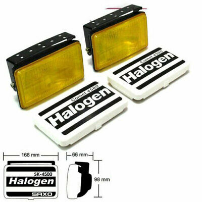 OffRoad Rally Yellow Driving Fog Lamps Spot Light Comet 12V Toyota AE86 MR2 AW11