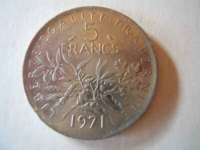 1971 French 5 Francs