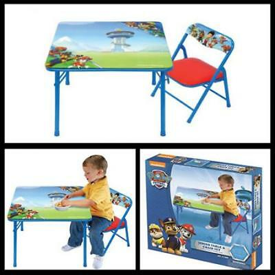 Kids Table and Chair Play Set Toddler Child Toy Activity Furniture In Outdoor