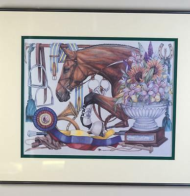 The Andrew L. French American Jumping Classic July 29,1995 Cincinnati Ohio Print
