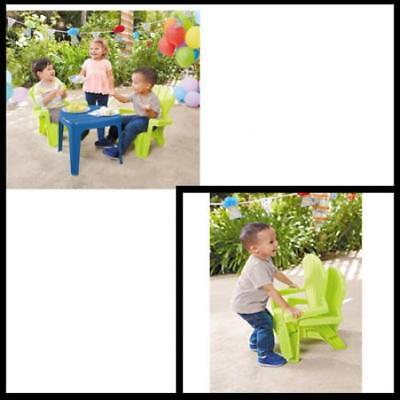Little Tikes Toddler Garden Kids Table and Chairs Play Set Child Toy Activity