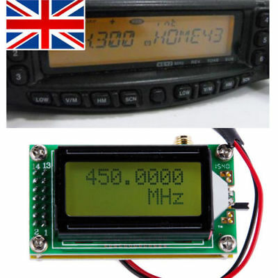 High Accuracy 1-500 MHz Max 640Mhz Frequency Counter Tester measurement Meter UK