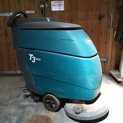 Tennant T3 Single Brush Scrubber Dryer