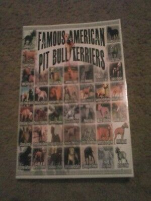 Famous American Pit Bull Terrier Book