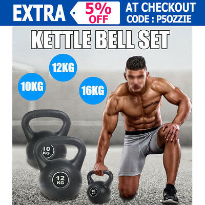 New Kettle Bell Training Weight Fitness Gym Exercise Workout Kettlebell Dumbell