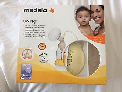 Madela Swing Breast Pump and 2 Bebe au lait covers for breast feeding in public