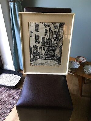 Drawing By Listed Artist Dorothy Henzell Willis
