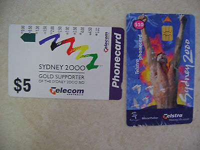 Telstra Sydney Olympics Phonecards