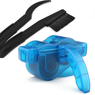 Cycling Bike Bicycle Cleaning Brushes Scrubber Set Chain Wheel Wash Cleaner Tool
