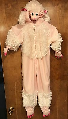Halloween!  Child's Pink Poodle Costume, Large