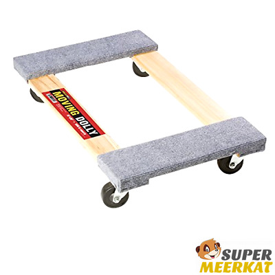 Moving Cart Dolly Platform Furniture Duty Moves Wheels System 1000 Lb Capacity
