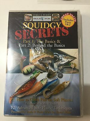 Squidgy Secrets Fishing DVD Part 1 and Part 2