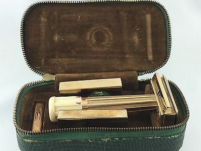 Vintage Apollo Mikron Solingen Safety Razor ♦ Rasierhobel ♦ Box ♦ Rar ♦ Top