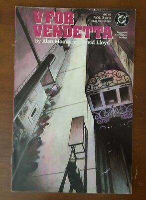 V for Vendetta (1988) #10 FN