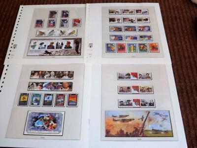 Isle Of Man-2000-Compl Years Commems+3 Sheets-(No Stamp Show)-Unm-Mnh