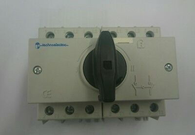 Technoeletric SD2 3 x 125a switch disconnect