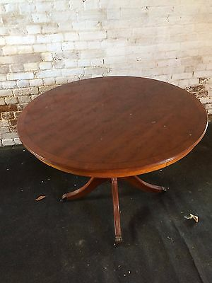 Round reproduction table