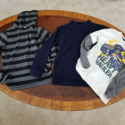 Lot of 3 Boys Back to School Tops, Size 7