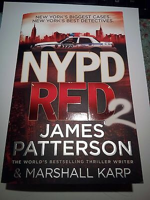 NYPD Red 2  by James Patterson   Paperback Book