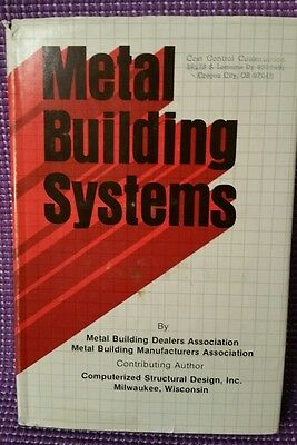 Metal Building Systems by Dealers Assoc & Computerized Structural Design HB DJ