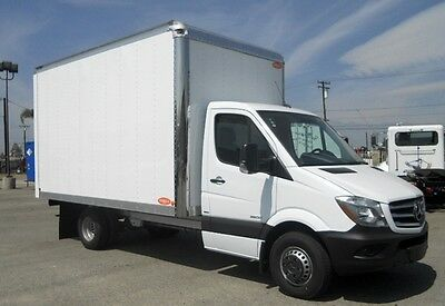 2016 Mercedes-Benz Sprinter 3500 14Ft New Box- diesel -PRICED REDUCED printer 3500 14ft box van truck dodge ford transit nissan isuzu flatbed benz