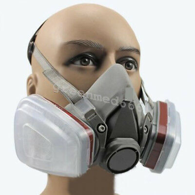 Anti-pesticide Paint Formaldehyde Gas Mask Polished Activated Carbon Filter Mask