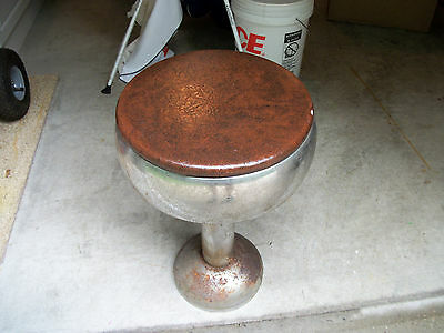 Vintage Soda Fountain Bar Stool