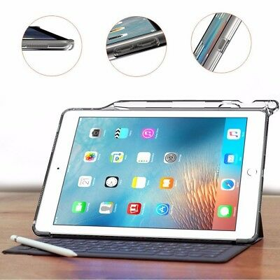 Poetic For iPad Pro 9.7 [Clarity Series] Keyboard with Pencil Holder Case Gray
