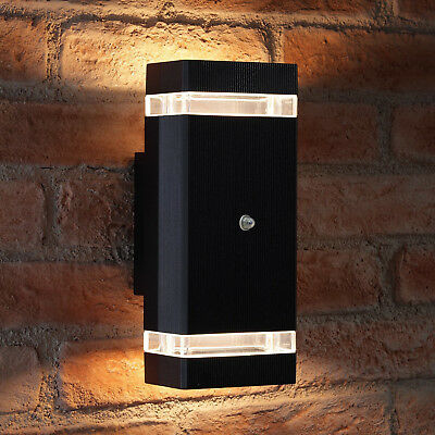 Auraglow Dusk Till Dawn Sensor Double Up & Down Outdoor Wall Security Light