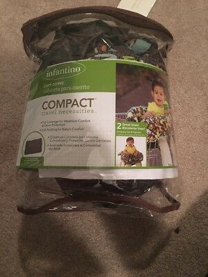 Infantino Compact 2-in-1 Shopping Cart Cover - *Free Shipping*