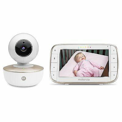 """Motorola 5"""" MBP855 Connect Video Baby Monitor With Portable Wi-Fi Remote camera"""