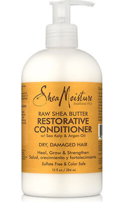 Shea Moisture Raw Shea Butter Restorative Conditioner For Dry, Damaged Hair 13Oz