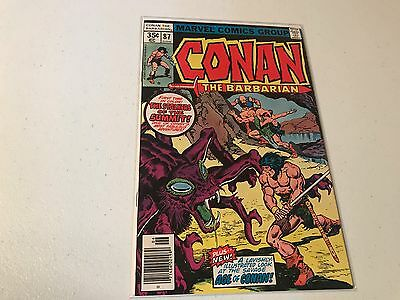 Conan the Barbarian #87 (1970) VF/NM Marvel Comics *High Grade*